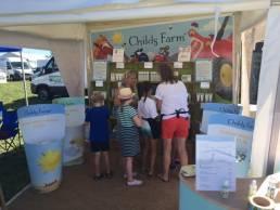Childs Farm exhibition stand Sales