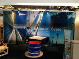 Exhibition graphics for Halyard