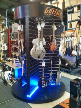 Gretsch Guitar FSDU - LED free standing displays