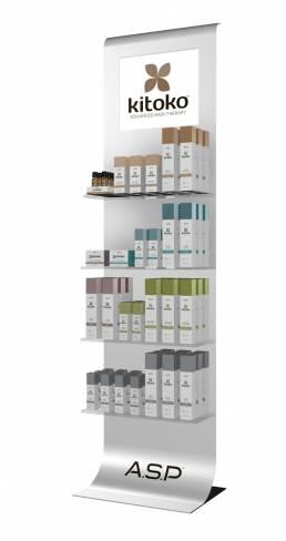 Floorstanding display unit FSDU for Kitoko