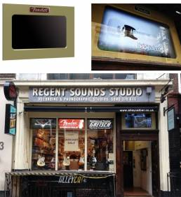 Regent Store fit out by Splash Display - interactive retro displays