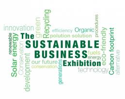 sustainable business exhibition trade show stands