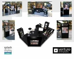 concession stand display - FSDU exhibition trade show