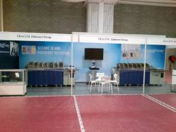 datacard exhibition stand graphics