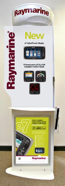 raymarine fsdu interctive free standing display unit