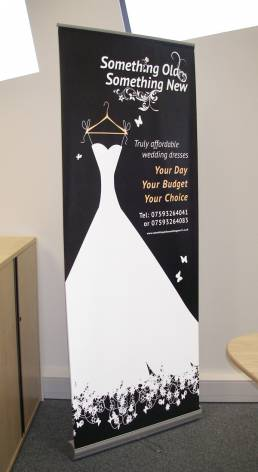 roller banners for trade and exhibition stands