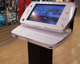 interactive large scale displays for retail point of purchase