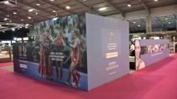 giant graphics for garmin trade show exhibition