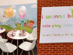 signage and wall graphics for i wanna be role play village