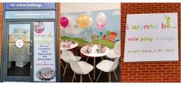 wall signs and large graphics, business signage and covid production screen for i wanna be