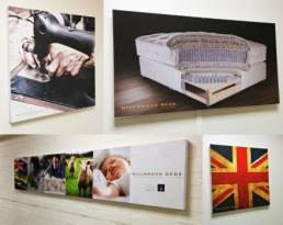 box canvas prints for interior displays