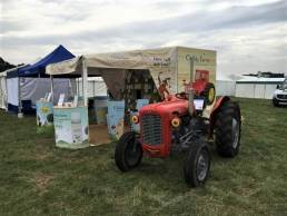 Trade show stand for outdoor exhibition for Childs Farm
