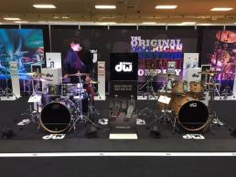 graphics and signage for drum retail display