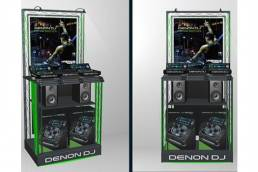 Denon DJ FSDU - free standing display unit - point of purchase