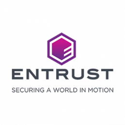 Point of purchase display for Entrust