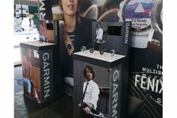 Garmin watch FSDU - free standing display unit - point of purchase