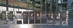 Advertising Banners for hugo boss mobile store