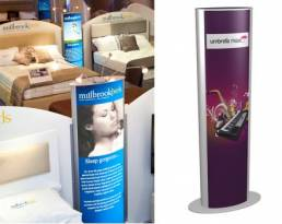 Lightboxes for retail displays and showrooms
