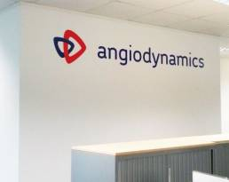 corporate wall graphics for office design and signage