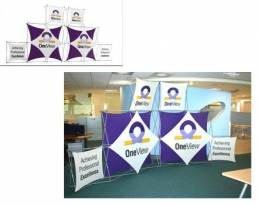 xpressions pop up banners for OneView