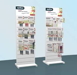 Zyliss - FSDU for Zyliss products - point of purchase, point of sale