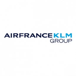 Point of purchase display for Air France KLM