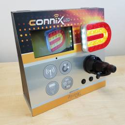 CTU counter top display point of purchase display for Sparex Connix LED