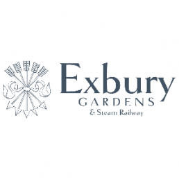 Point of purchase display for Exbury Gardens