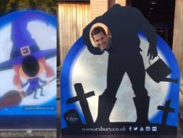 exbury photo opportunity boards halloween