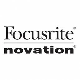 Point of purchase display for Focusrite
