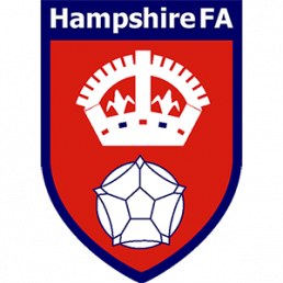 Point of purchase display for Hampshire FA