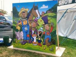 Longdown ACtivity Farm photo opportunity board
