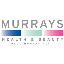 Point of purchase display for Murrays Health and Beauty