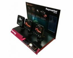 raymarine df ctu - counter top display units - hi tech working model