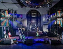 fender stage design at festival