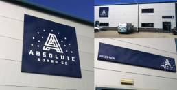 Exterior business branded signage, giant signs for your business