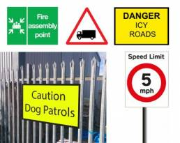 safety and information signage for your business, school, property