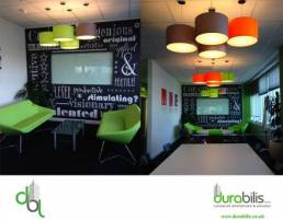 Wall graphics and vinyls for shops, cafes, restaurants and offices