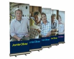 printed roller banners - display solutions
